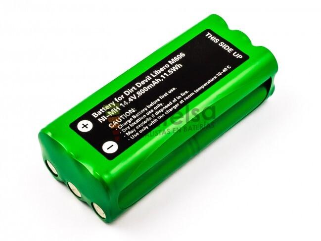 Batterie 1500mAh pour Dirt Devil Libero M606 Spider M607