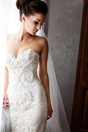 Limpieza de vestido de novia